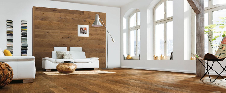 Holzwand Kork Parkett Studio Mittag
